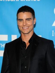Colin Egglesfield poses in the press room at the 36th Annual Daytime Emmy Awards at The Orpheum Theatre, Los Angeles, August 30, 2009
