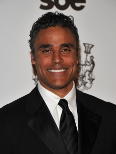 Rick Fox arrives at the Grand Opening of the new SLS Hotel at Beverly Hills on December 4, 2008
