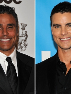 Rick Fox, Colin Egglesfield
