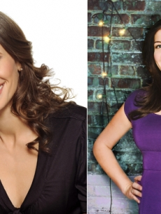 Michaela Watkins and Casey Wilson