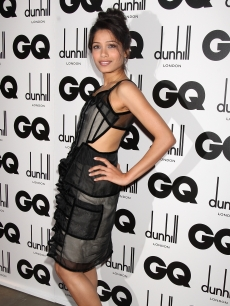 Freida Pinto turns up at the GQ Men of the Year Awards in London, Sept. 8, 2009