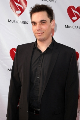 DJ AM — aka Adam Goldstein — attends the MusiCares benefit concert in Los Angeles on May 8, 2009