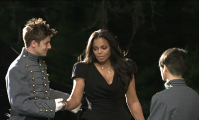 Janet Jackson arrives at the funeral for her brother, Michael Jackson, Glendale, Calif., Sept. 3, 2009
