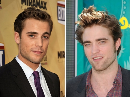 Dustin Milligan and Robert Pattinson
