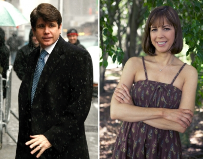 Rod Blagojevich and his wife, Patti