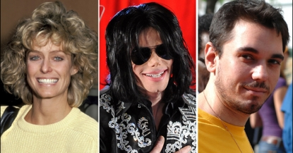 Farrah Fawcett, Michael Jackson and DJ AM