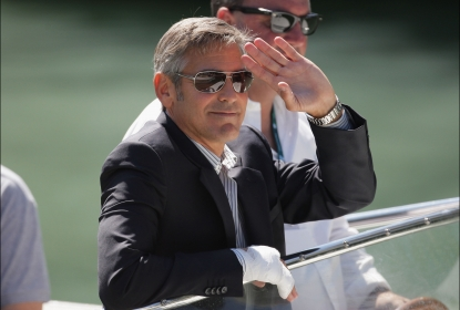 George Clooney departs from the Excelsior Hotel during the 66th Venice Film Festival on September 8, 2009 in Venice, Italy