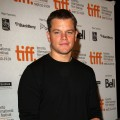 Matt Damon onstage at the 'The Informant!' press conference held at the Sutton Place Hotel on September 11, 2009 in Toronto, Canada