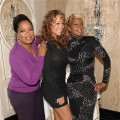Oprah Winfrey, Mariah Carey and Mary J. Blige participate in a news conference for the film 'Precious' during the Toronto International Film Festival in Toronto on September 13, 2009