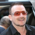 Bono is all smiles at the 'Ondine' screening during the 2009 Toronto International Film Festival held at the Winter Garden Theatre on September 14, 2009 in Toronto, Canada