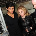Jesus Luz and Madonna are spotted attending Marc Jacobs Spring 2010 at the NY State Armory on September 14, 2009 in New York City