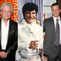 Michael Douglas, Liberace and Matt Damon