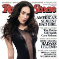 Megan Fox on the cover of the October 2009 issue of Rolling Stone