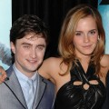 Daniel Radcliffe and Emma Watson at the 'Harry Potter and the Half-Blood Prince' premiere on July 9, 2009 in New York City