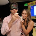 Jennifer Love Hewitt &amp; Jamie Kennedy helped start something good with Lipton Green Tea &#8212; toasting their victory after taking the lead in the Lipton Green VitaliTEA Challenge which helped raise money for charity!