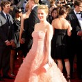 The stunning Drew Barrymore arrives at the 61st Primetime Emmy Awards held at the Nokia Theatre on September 20, 2009 in Los Angeles, California