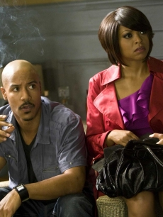 Brian White and Taraji P. Henson in 'Tyler Perry's I Can Do Bad All By Myself'