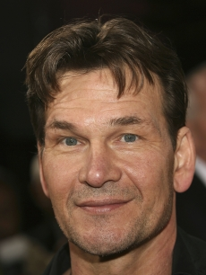Patrick Swayze attends the world premiere of 'Rocky Balboa' at Grauman's Chinese Theater, Los Angeles, December 13, 2006