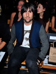 Jason Schwartzman attends the Rodarte Spring 2010 fashion show in New York, New York on September 15, 2009 