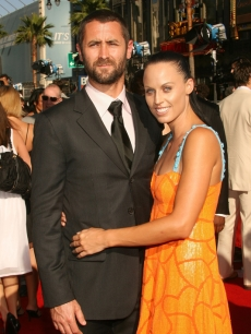 Sacha Brown and Amanda Beard arrive to the 2007 ESPY Awards in Hollywood