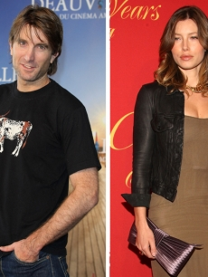 Sharlto Copley and Jessica Biel