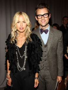 Rachel Zoe and Brad Goreski attend the Marchesa Spring 2010 Presentation at Chelsea Art Museum, NYC, September 16, 2009