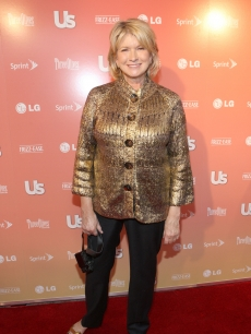 Martha Stewart at Us Weekly's NYC Fashion Week Party