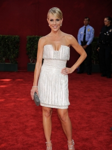 'Dexter's Julie Benz arrives at the 61st Primetime Emmy Awards held at the Nokia Theatre on September 20, 2009 in Los Angeles, California