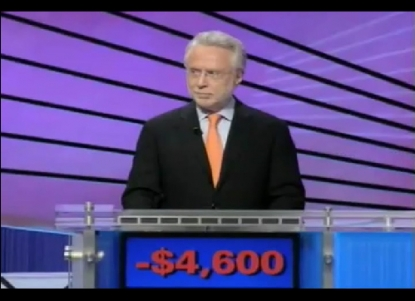 Wolf Blitzer on 'Jeopardy!'