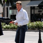 David Hasselhoff steps out in Beverly Hills on September 21, 2009
