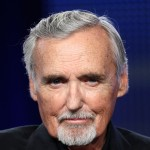 Dennis Hopper of the television show 'Crash' speaks during the Starz Network segment of the Television Critics Association Press Tour, Pasadena, Calif., July 29, 2009