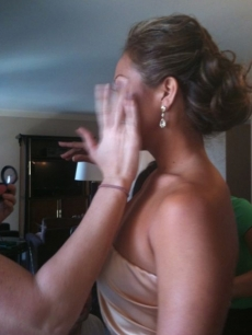 Carrie Ann Inaba posts this Twitpic as she gets ready for the Emmys