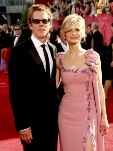 Kevin Bacon and Kyra Sedgwick step out at the 61st Primetime Emmy Awards at the Nokia Theatre in LA on September 20, 2009