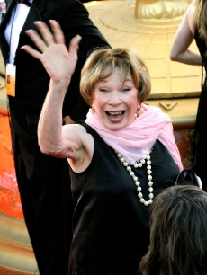The legendary Shirley Maclaine arrives at the 61st Primetime Emmy Awards held at the Nokia Theatre on September 20, 2009 in Los Angeles, California