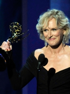 Glenn Close accepts the Outstanding Lead Actress In A Drama Series award for &#8216;Damages&#8217; onstage during the 61st Primetime Emmy Awards held at the Nokia Theatre, LA, September 20, 2009