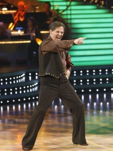 Tom DeLay cha chas to 'Wild Thing' on the opening night of 'DWTS.' Sept. 21, 2009