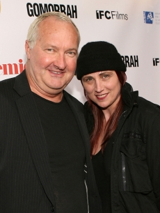 Randy Quaid and wife Evi pose on the red carpet in Hollywood on November 11, 2008