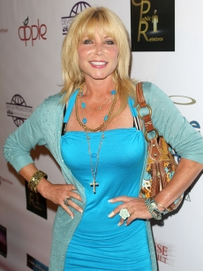 "David Hasselhoff's ex-wife Pamela Bach on 9/14/09 at the premiere of ""The House That Jack Built"""