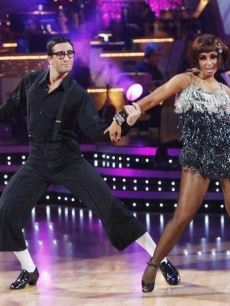 Dmitry Chaplin and Mya during Week 2 od 'DWTS'