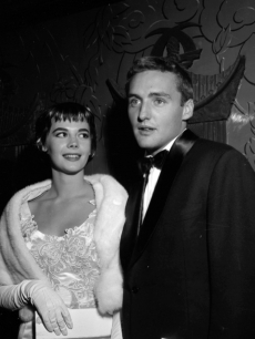 Natalie Wood and Dennis Hopper, October 17, 1956