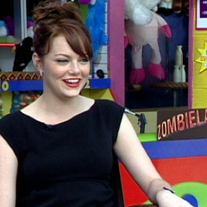 Emma Stone Gleefully Takes On The Walking Dead In 'Zombieland'