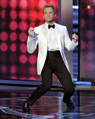 Neil Patrick Harris hosts the 61st Primetime Emmy Awards held at the Nokia Theatre, Los Angeles, September 20, 2009