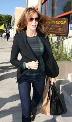 Jaclyn Smith spotted out and about in Hollywood on February 19, 2009