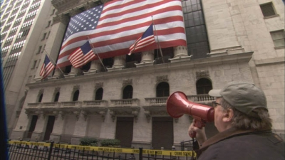 "The Buck Stops Here!  Michael Moore takes on Wall Street in ""Capitalism: A Love Story"""
