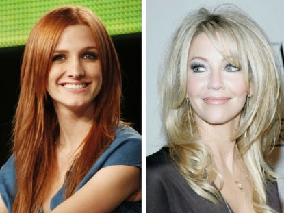 Ashlee Simpson-Wentz and Heather Locklear