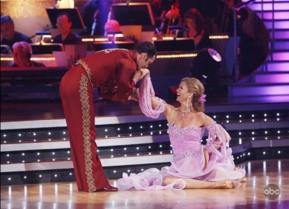 Tony Dovolani and Kathy Ireland on Week 2 of &#8216;Dancing With the Stars&#8217;