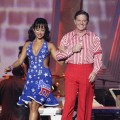 Cheryl Burke and Tom DeLay head into the ballroom during Week 3 of 'Dancing'