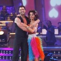 Maksim Chmerkovskiy and Debi Mazar show off their moves during Week 3 od 'Dancing'