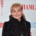 Barbara Walters attends the Broadway opening night of 'Hamlet' at the Broadhurst Theatre, NYC, October 6, 2009
