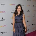 Sophia Bush is beautiful in blue at the Inaugural Gala of the Los Angeles Philharmonic at the Walt Disney Concert Hall in Los Angeles on October 8, 2009